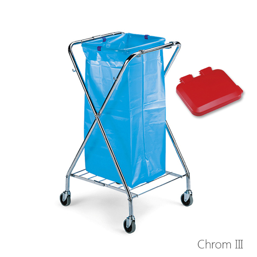 Abfallsammler chrom III