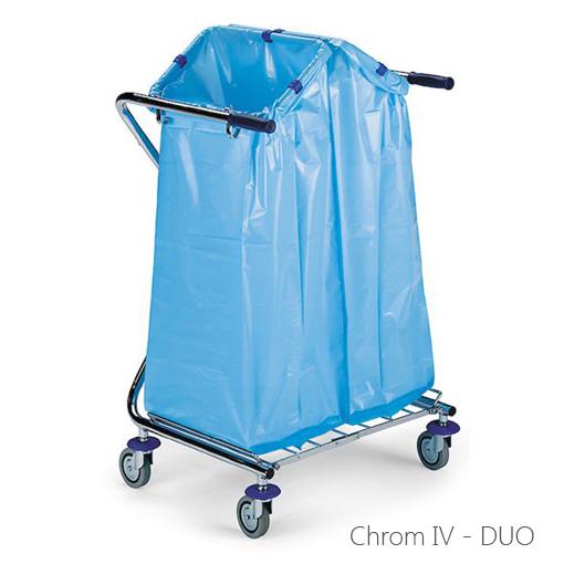 Abfallsammler chrom IV DUO