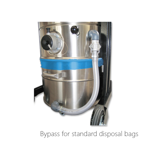 Bypass for standard disposal bags, 053-3030