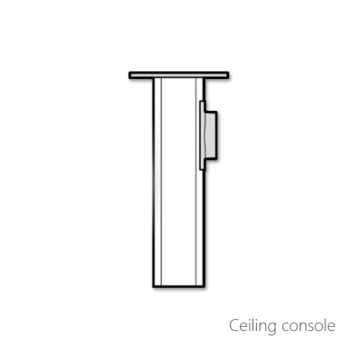 Ceiling console, 072-0418, 072-0419, 072-0420, 072-0421