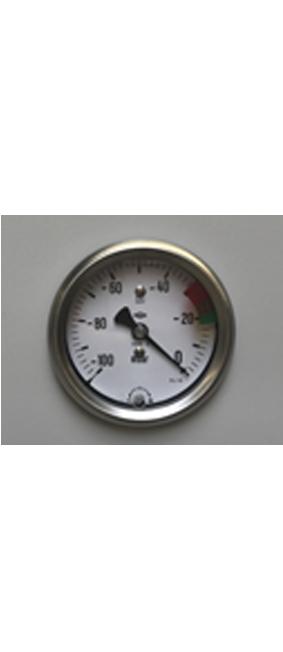 Detail Unterdruckmanometer