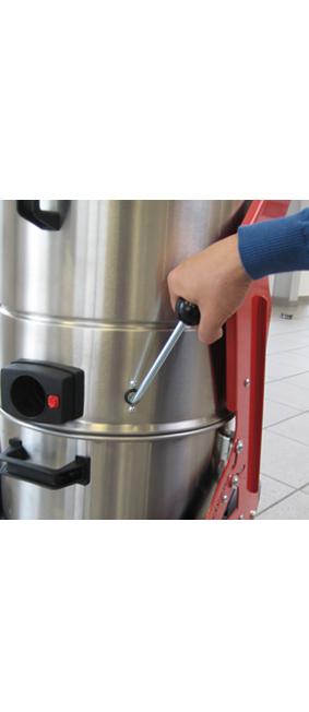 Detailbilder ECOdust Filterabruettlung