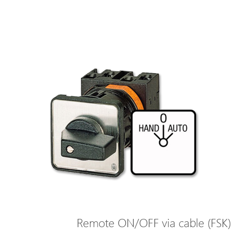 Remote ON/OFF via cable (FSK9), 054-6931, 054-6930, 054-40208