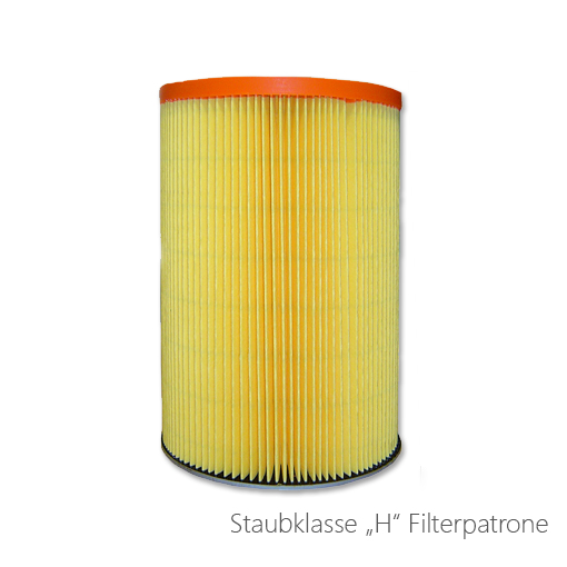 Filterpatrone Staubklasse H, 124-7768