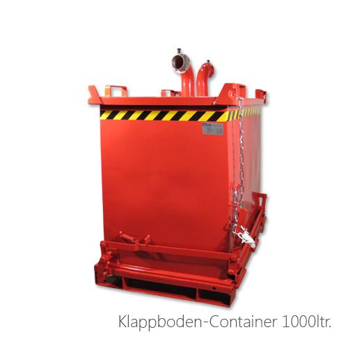 Klappbodenbehälter 1000ltr, 053-2020