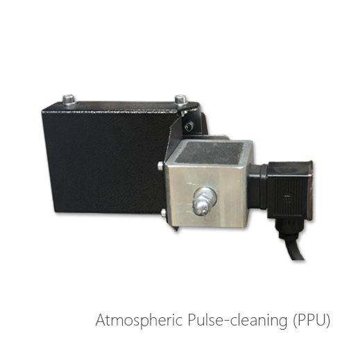Atmospheric pulse-cleaning (PPU), 053-3026, 053-3025