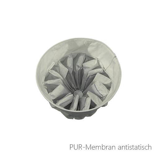 PUR-Membran antistatisch