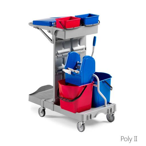 Reinigungswagen Poly II