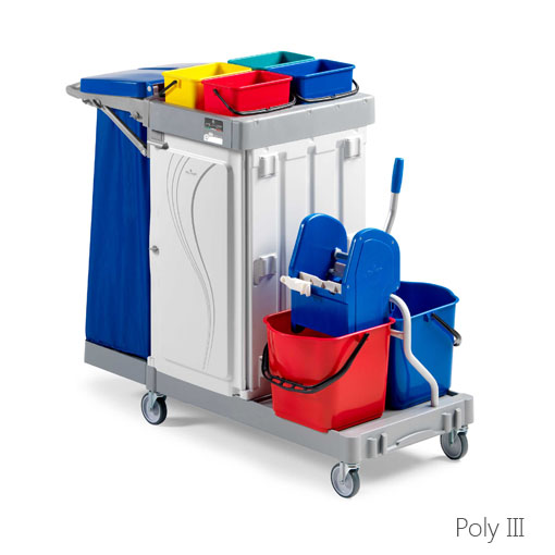 Reinigungswagen Poly III