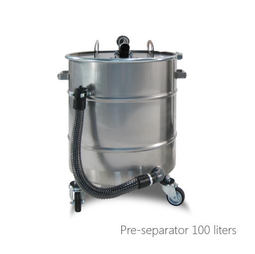 Pre-separator 100 liters, 053-1090, 053-1091, 053-1092, 053-1093, 053-1094
