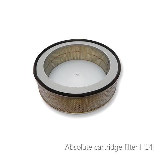 Absolute cartridge filter H14, 054-20027