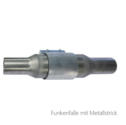 Funkenfalle mit Metallstrick, 072-0628, 072-0629, 072-0630