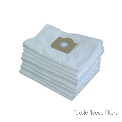 Textile fleece filters, 115-1021, 115-1022, 115-1023